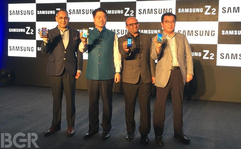 Samsung Z2 Tizen-based smartphone with Jio Preview Offer launched in India, priced at Rs 4,590: Specifications, features