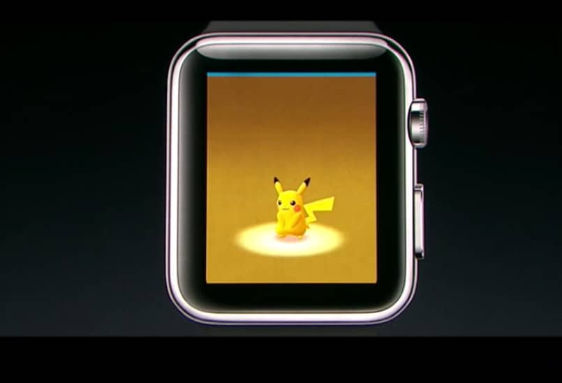 pokemon go-Apple watch 2-Apple Event 2016