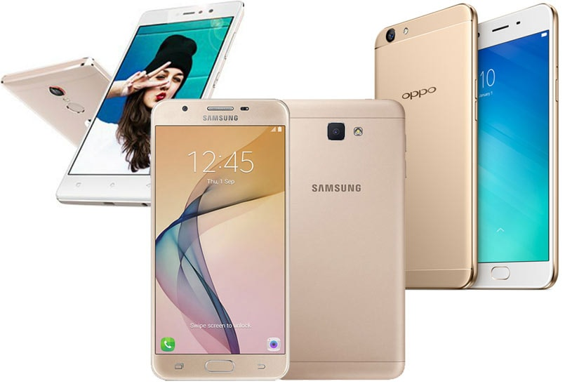 Samsung Galaxy J7 Prime vs Gionee S6s vs OPPO F1s: Price, specifications, features compared