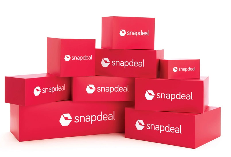 snapdeal-boxes-stock-image