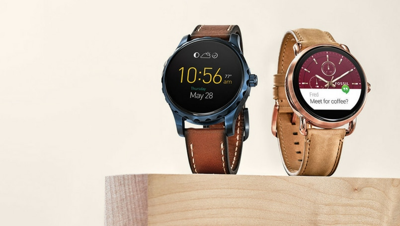 e8cc957decd9 Fossil enters  connected  wearable segment in India