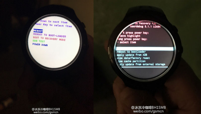 puerta apodo Compra  HTC 'Halfbeak' Android Wear smartwatch leak shows off circular display, Under  Armour branding