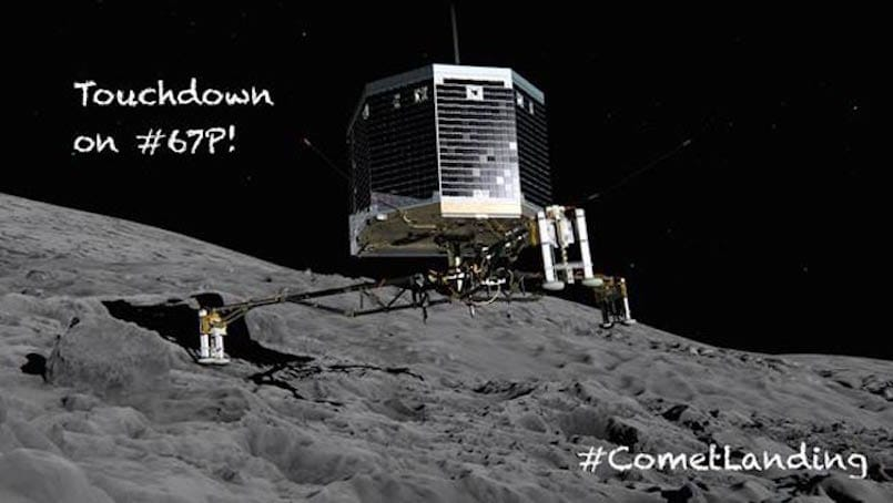rosetta spacecraft landing - photo #5