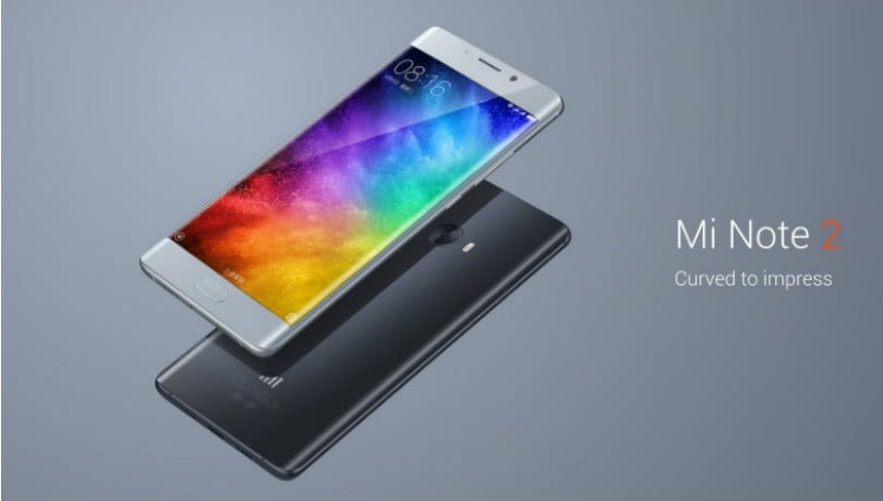 Xiaomi Mi Note 2 starts receiving Android Oreo MIUI Global Beta ROM