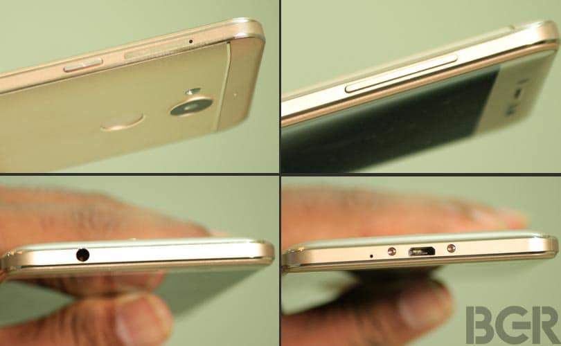 coolpad note 5 ports