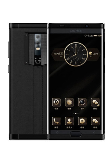 Gionee M2017 with Black Color