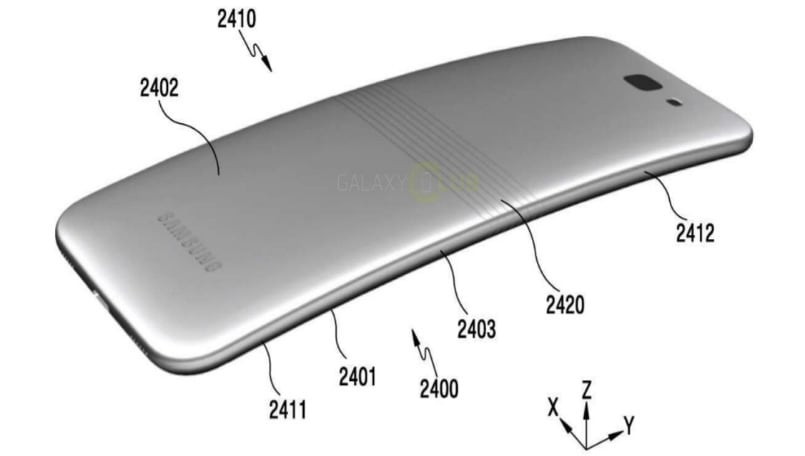 Samsung patent reveals possible foldable design for the Galaxy X