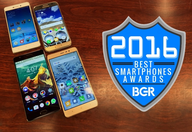 BGR India Awards: The 12 Best Smartphones of 2016