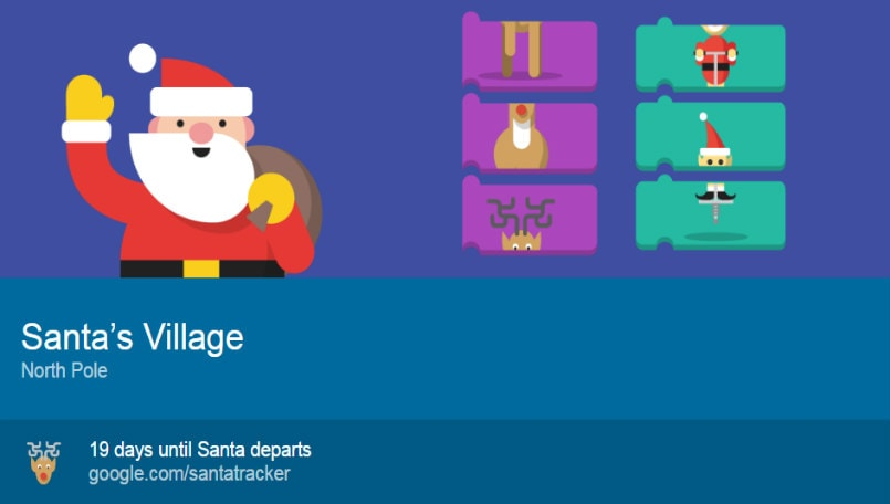 google s 2016 santa tracker is back with new games and more bgr india
