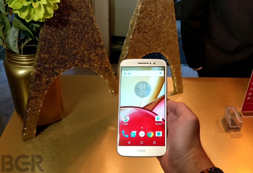 Moto M finally unveiled in India