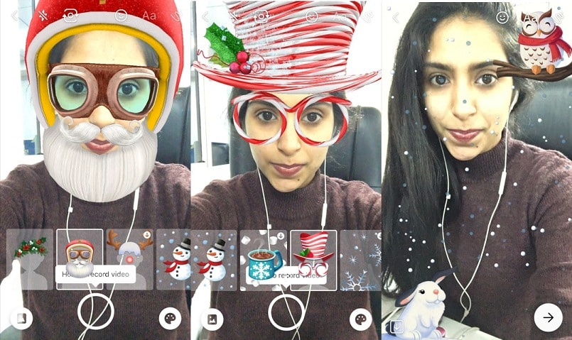 Snapchat has a very fun Christmas-themed game for you; here's how ...