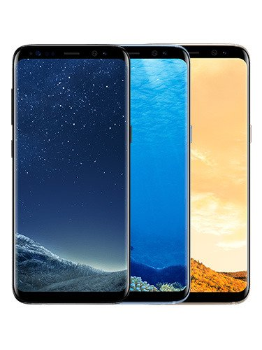Samsung Galaxy S8+ Colors