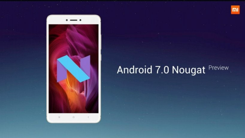 Tema Xiaomi Redmi Nota 4 2017 Para Android: Xiaomi Redmi Note 4 Gets Android 7.0 Nougat Preview; Here