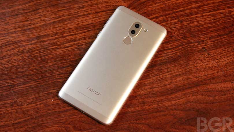 honor 6x review back