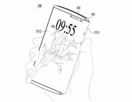 After Samsung, Microsoft and Nokia, LG files patent for a foldable smartphone