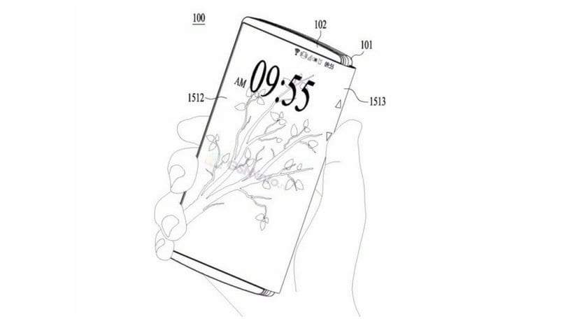 after samsung  microsoft and nokia  lg files patent for a foldable smartphone