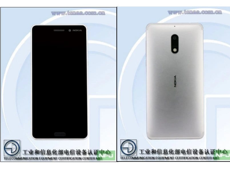Nokia 6 silver color variant spotted on TENAA: Specifications, features
