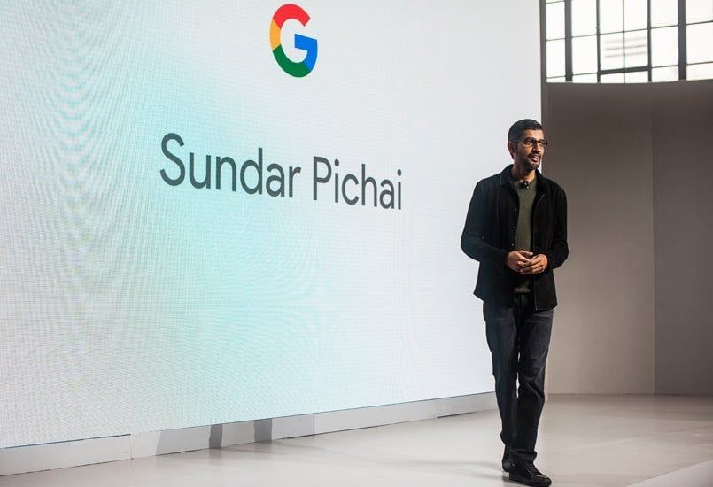Google CEO Sundar Pichai doubled income at nearly $200 million in 2016