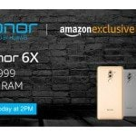 Honor 6X to go on sale via Amazon at 2PM:…