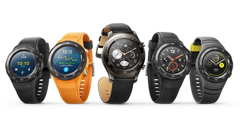Image result for Huawei Watch 2, Watch 2 Classic With 4G LTE Support Launched at MWC 2017