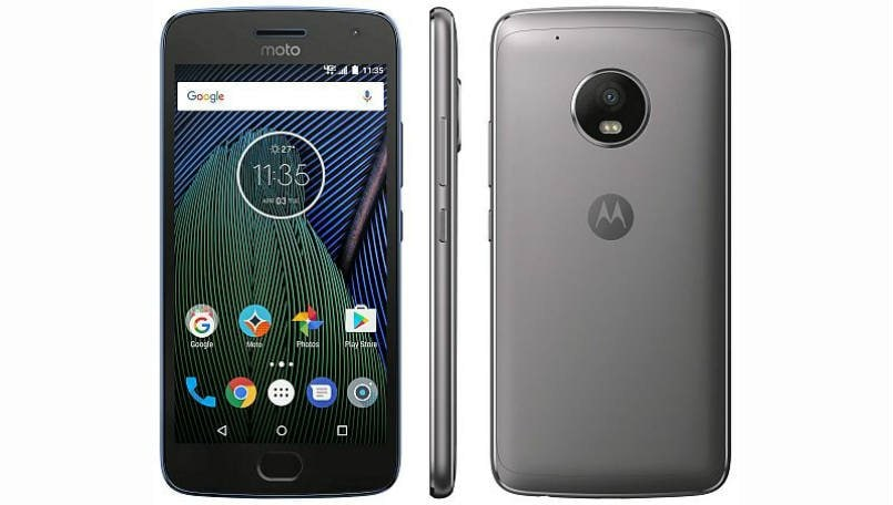 Moto G5 Plus leaked render reveals circular camera setup, capsule-shaped home button