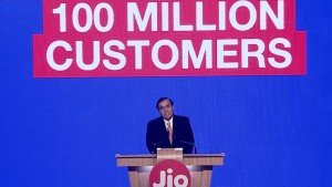 Jio crosses 100 million users