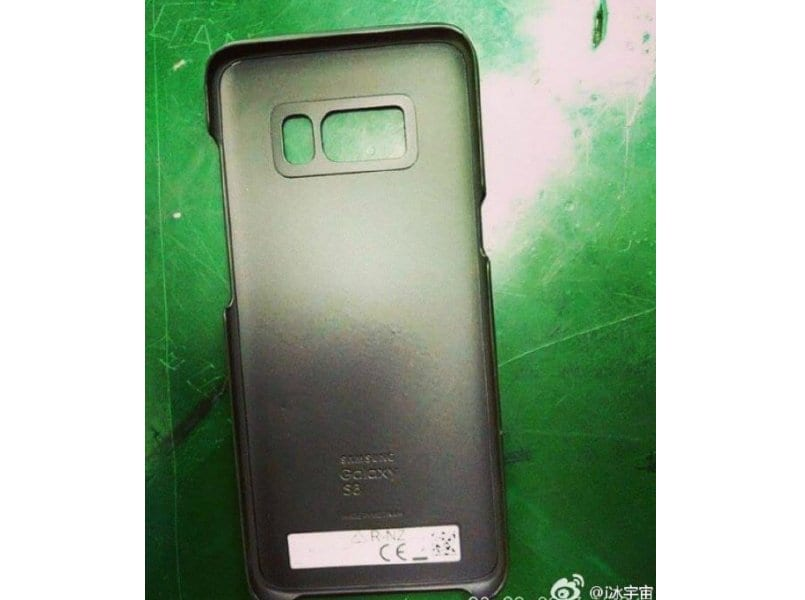 Case Design rocker phone cases : ... S8, Galaxy S8 Plus leaked cases confirm fingerprint sensor placement