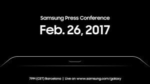 Samsung sends out MWC 2017 invite, could launch the Galaxy Tab S3