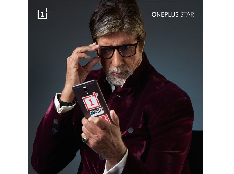 Amitabh Bachchan becomes first-ever 'OnePlus Star'