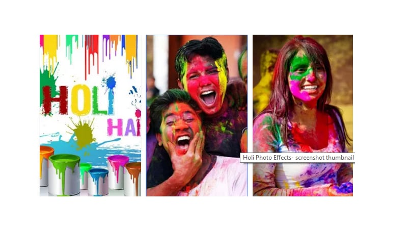 holi photo effects