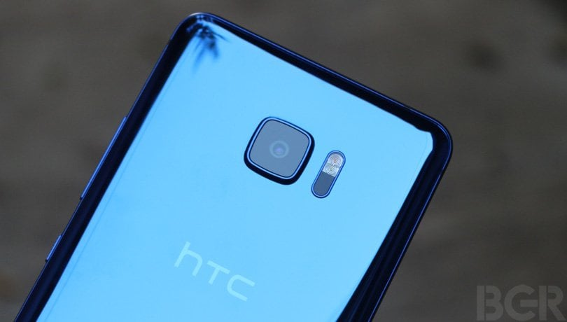 htc u ultra rear camera
