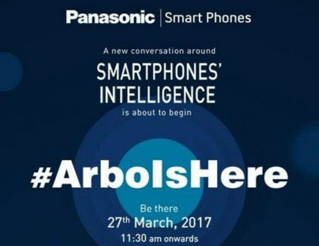 Panasonic to launch a new smartphone with 'smart intelligence' in India on March 27