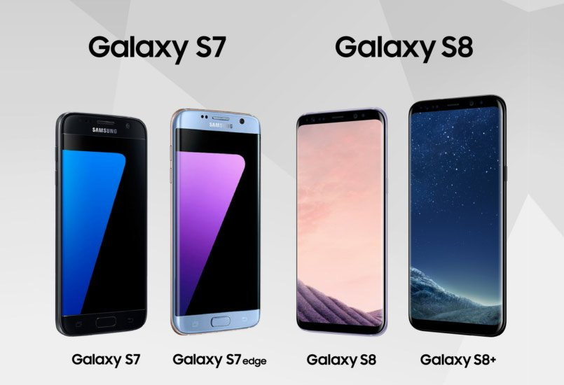 Samsung Galaxy S8 vs Galaxy S7: Here's what's different ...