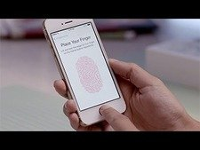 The new Touch ID fingerprint identity sensor
