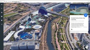 Google Earth now supports 3D views and guided tours of the world under the 'Voyager' section