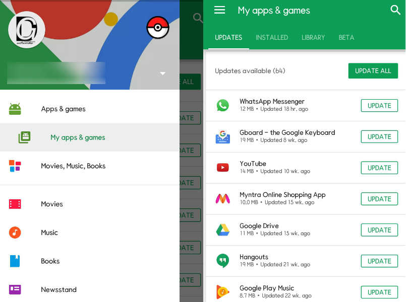 Google Play Store update makes it easier for you to manage apps