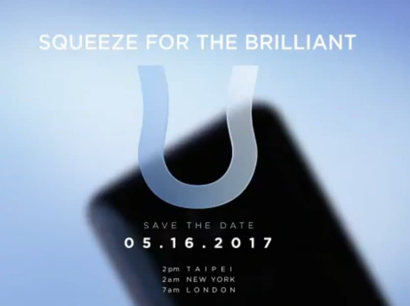 HTC U 11 retail box art leaks, reveals Edge Sense feature, Snapdragon 835 SoC, 6GB RAM