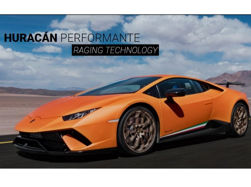 lamborghini launches huracan performante in india prices start at rs crore. Black Bedroom Furniture Sets. Home Design Ideas