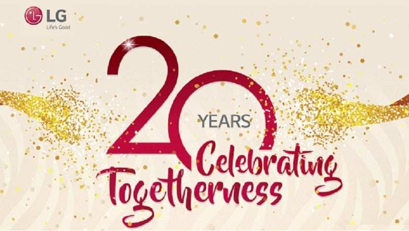 Lg Celebrates 20 Years In India Offers 20 Discount On Lg