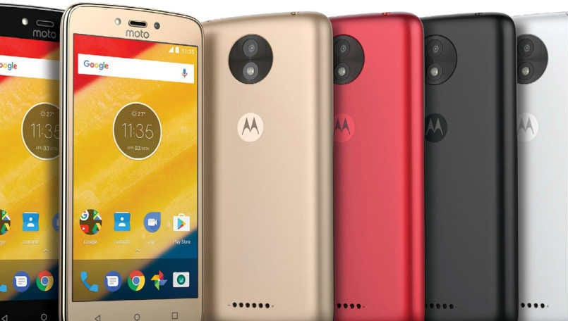 Moto reveals C-series smartphones, moves towards five-series product range