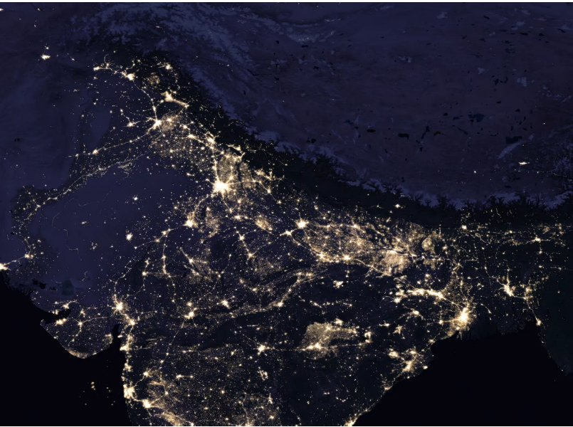 nasa night view of earth - photo #17