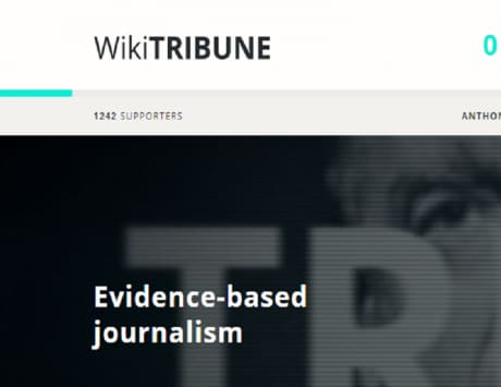 Wikipedia co-founder Jimmy Wales launches Wikitribune portal to fight fake news