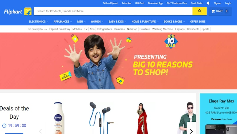 Flipkart and Amazon begin sales war, ask merchants to offer huge discounts