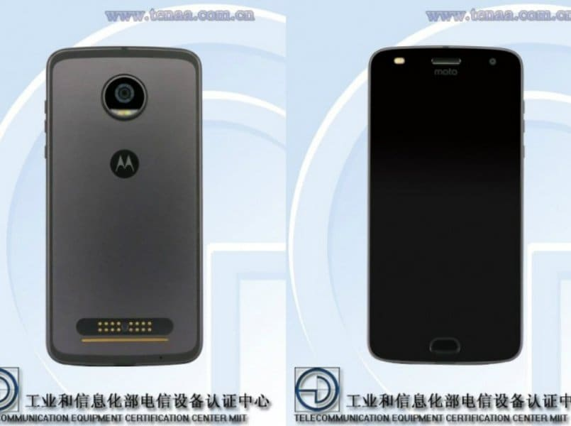 Moto Z2 Play with 2,820mAh battery spotted on TENAA