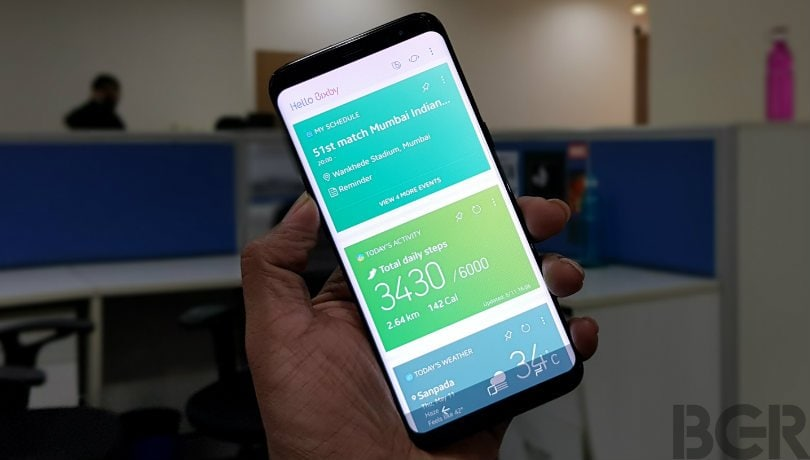 Samsung Galaxy S8, Galaxy S8+: A closer look at Bixby AI assistant