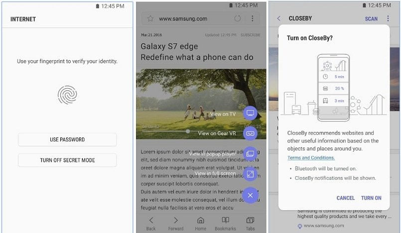 Samsung Internet browser out of beta, starts rolling out for