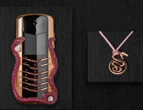 Vertu SIGNATURE Cobra limited edition phone launched for around Rs 2.3 crore only