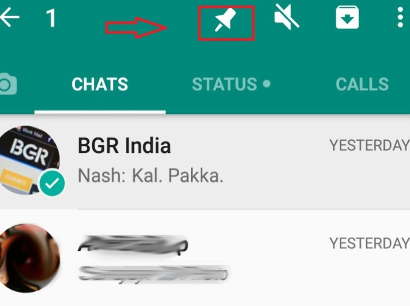 WhatsApp reveal new 'pin' feature