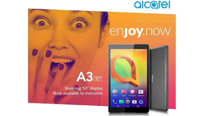 Alcatel A3 10 with Android 7.0 Nougat launched in India, priced at Rs 9,999: Specifications, features