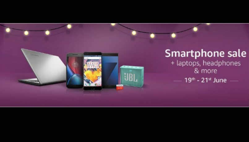 Amazon Smartphone Sale: Apple iPhone 7 gets Rs 17,000 off, Moto Z available at Rs 29,990 and other deals
